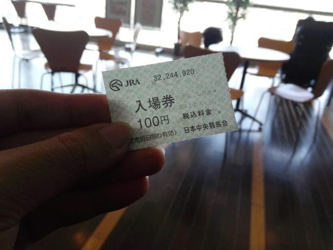 入場料100円