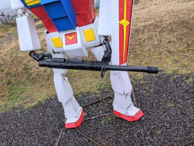 ガンダムの銃