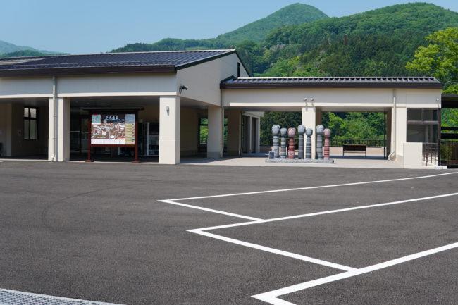駐車場,バス