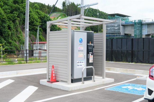車の充電設備