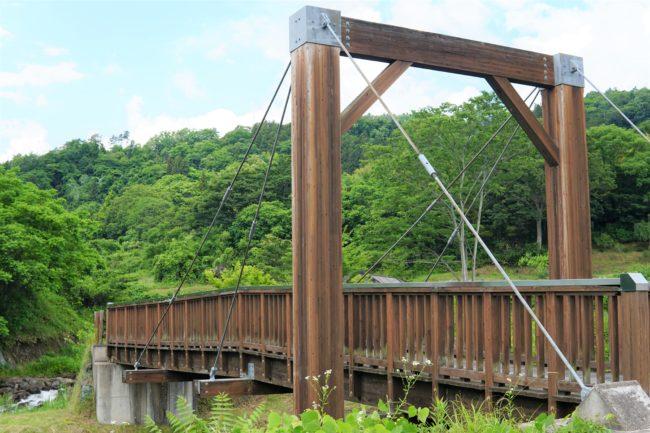 うぶかの郷の橋