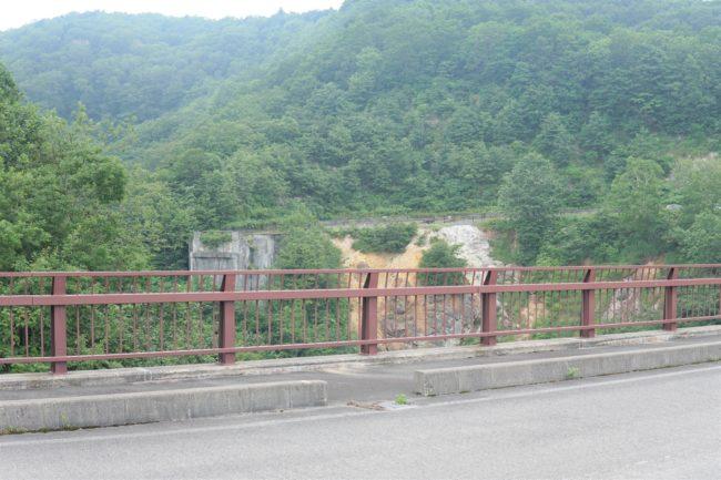 不動沢橋跡