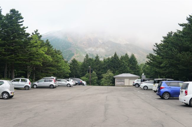 兎平駐車場