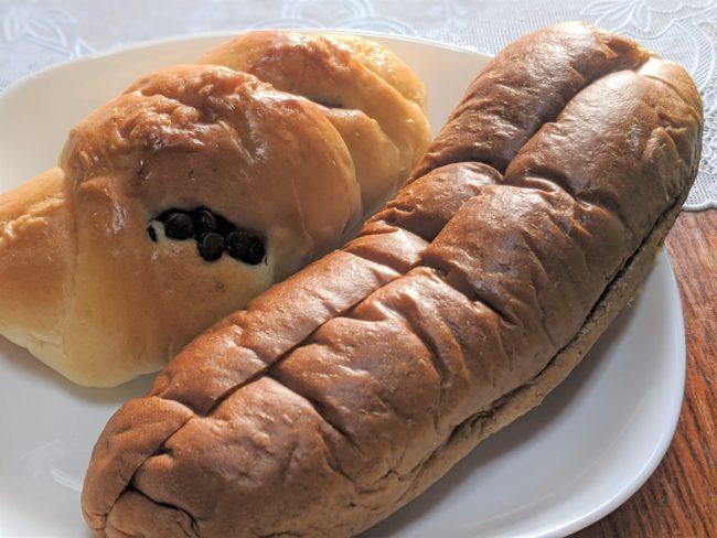 黒糖パン,チョコパン
