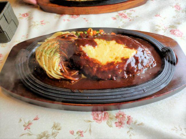 チーズインハンバーグステーキ