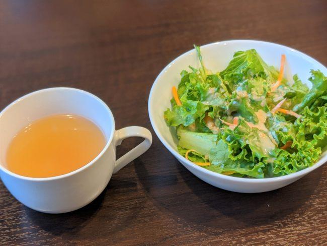 サラダ,スープ