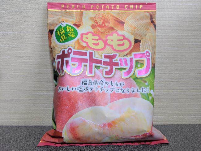 チップス 福島 ポテト 桃