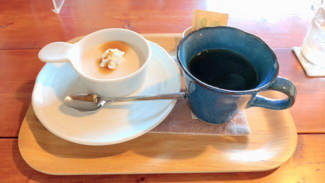 紅茶プリントホットコーヒー